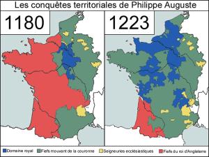 Conquêtes de Philippe-Auguste