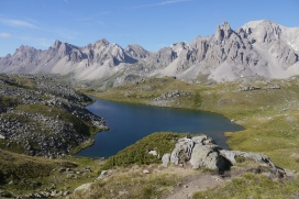 Lac Long (haute vallée de Nevache)