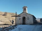 La Chapelle de La Chau au début de la vallée des Fonts.