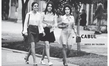 Jeunes femmes à Kaboul dans les années 1970