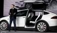 Elon Musk et Tesla Model X