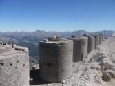 Les 8 tourelles du Mont Chaberton (3131 m)