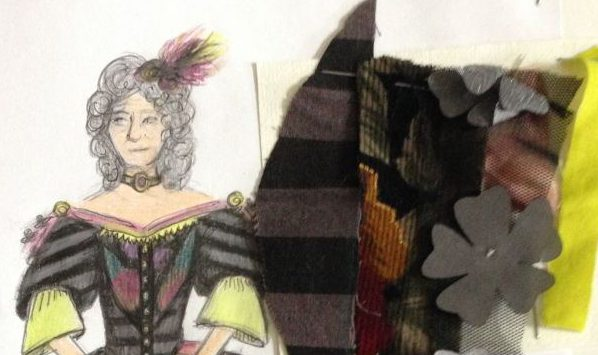 Mme Pernelle Costume par Laura Alessandrini